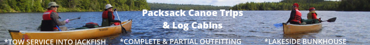 Packsack Canoe Trips & Log Cabins