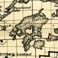 Boundary Water 1920 Historic Map
